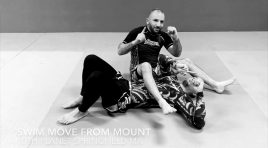 SWIM MOVE FROM MOUNT – 10TH PLANET JIU JITSU