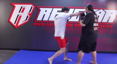 Setting up the overhand