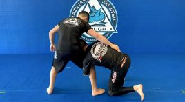 OUTSIDE SINGLE LEG TAKEDOWN